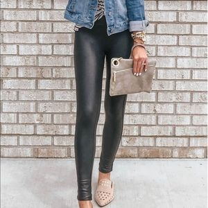 ***NEW w/ TAGS!*** spanx leather legging